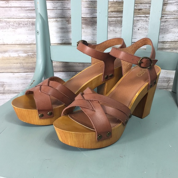 943b50907 Cato Fashions Shoes - Chunky Wooden Block Heel